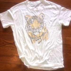 Oversized Tiger graphic tee
